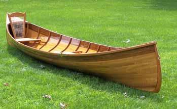 Woodstrip Watercraft Co Adirondack Guideboat